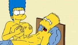 Marge Simpson nos regala su versión más golfa y sexual