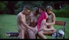 Cinco jovencitas morbosas para un joven afortunado